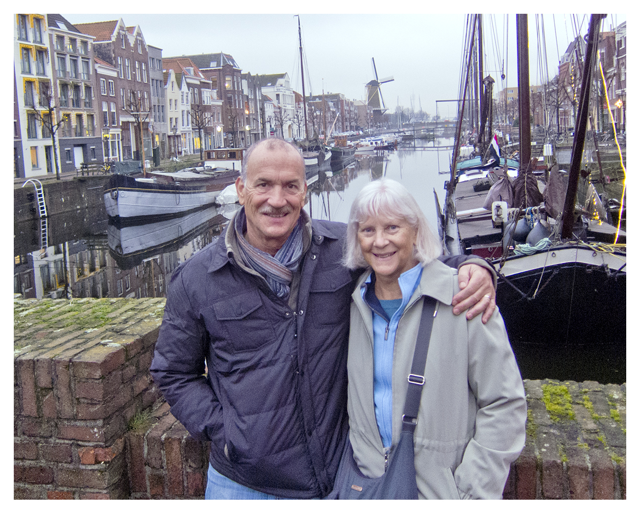 Betsy and Mark Amsterdam
